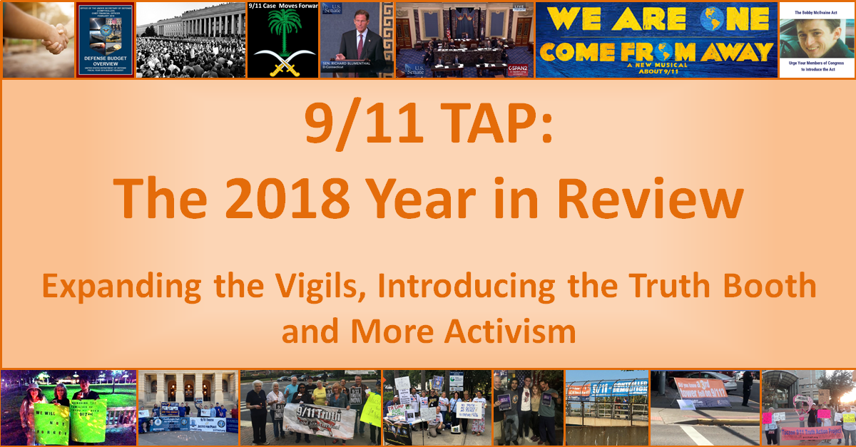 9/11 TAP: The 2018 Year in Review
