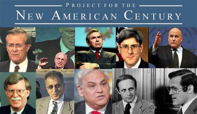 Project for the New American Century (PNAC) yearbook photos