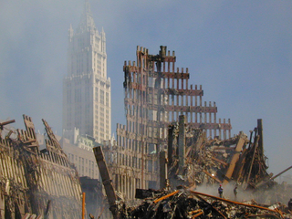 WTC FEMA 3950 Photograph by Michael Rieger taken on 09 18 2001 in New York b95ee copy