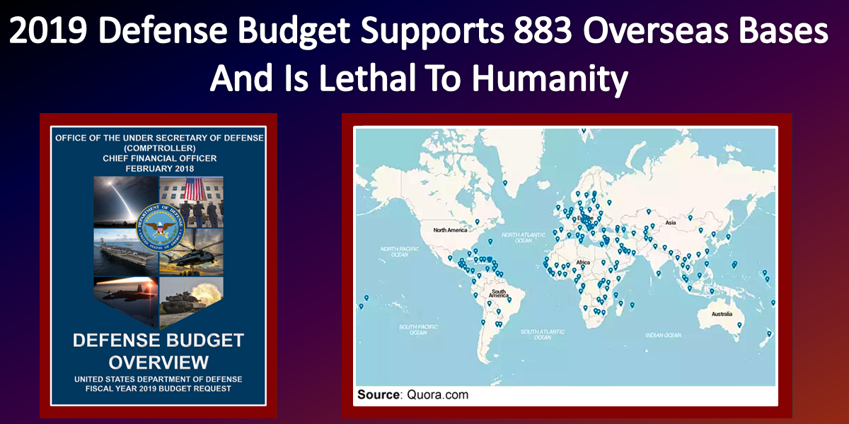 2019 Defense Budget Supports 883 Overseas Bases And Is Lethal To