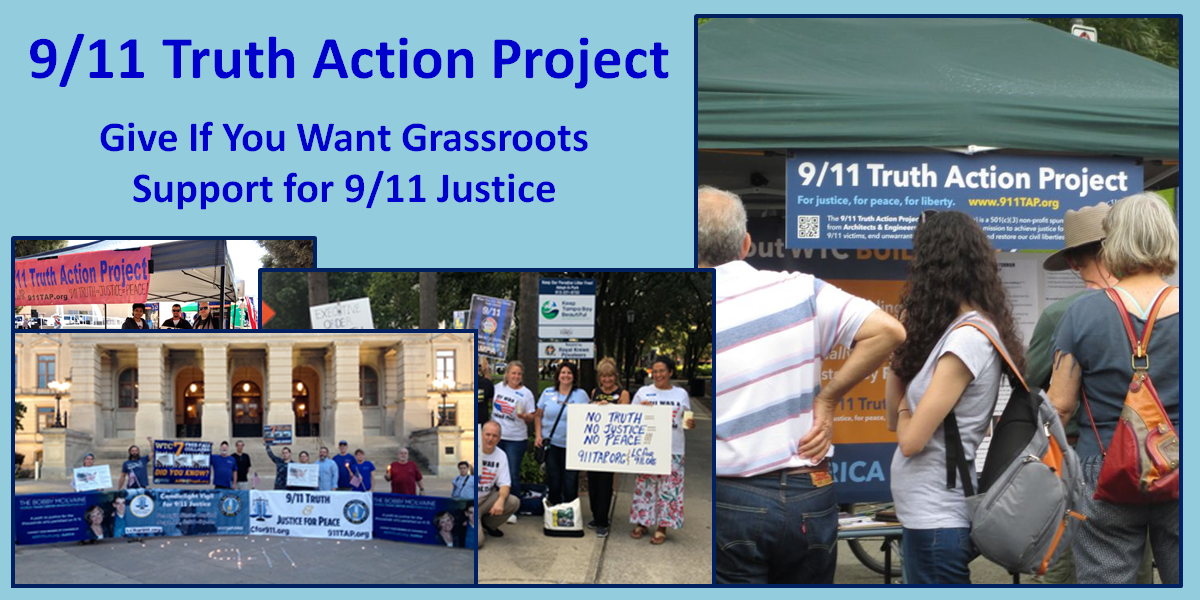 For Giving Tuesday Remember The 9 11 Truth Action Project