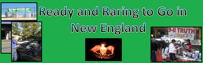 Ready and Raring to Go in New England; Dr. T-Ruth's Tips On Creating Truth Action Groups