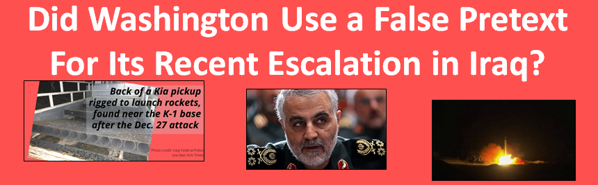 Attacking Ketaib Hizbullah and General Soleimani: Case of attacking without investigating