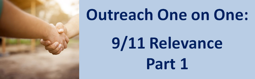 Observations, insights, and methods for direct face-to-face 9/11 outreach with the public