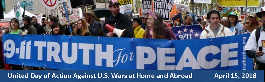 Spring  Action 2018 to oppose war and support the funding human needs – plus 9/11 Truth