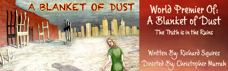 A Blanket of Dust is a political thriller. Diana Crane's husband died at the WTC on 9/11