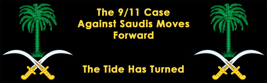 9/11 Case Against Saudis Moves Forward; The Tide Has Turned