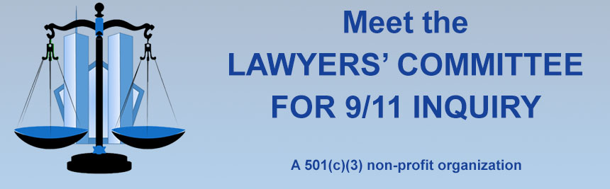 Meet the Lawyers Committee for 9/11 Inquiry Banner