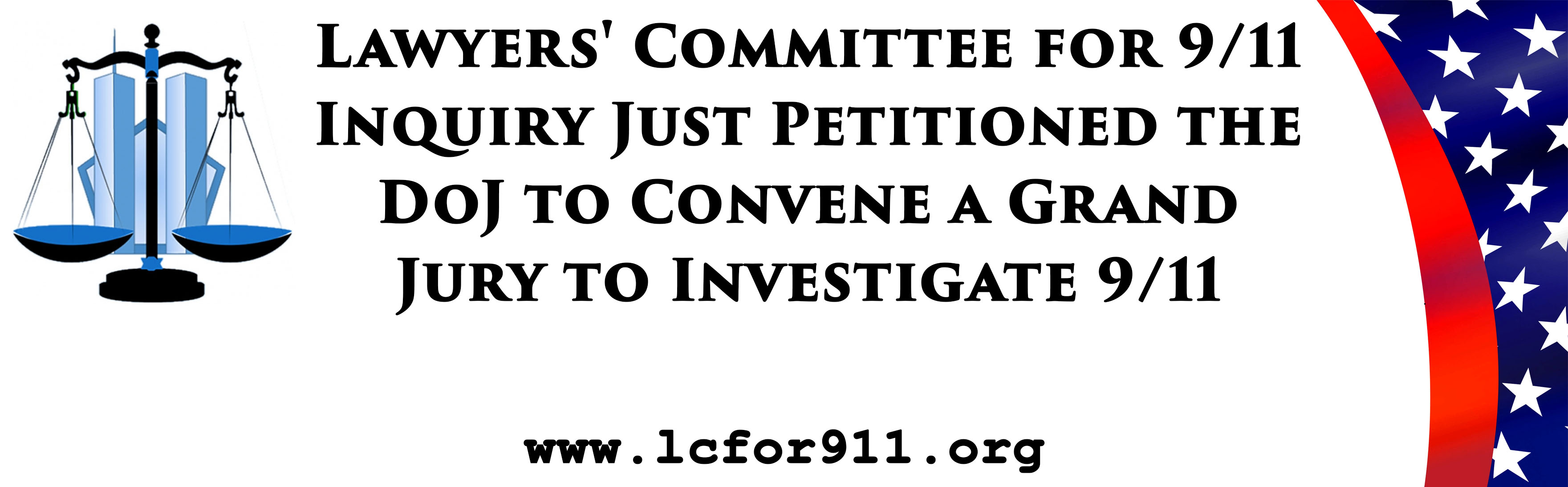 Lawyers' Committee for 9/11 Inquiry Just Petitioned the DoJ to Convene a Grand Jury to Investigate 9/11