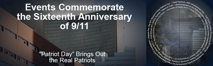 Events Commemorate the Sixteenth Anniversary of 9/11 Banner