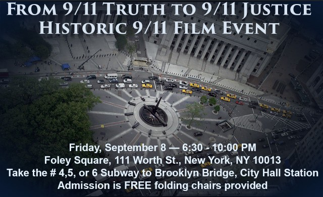 From 9/11 Truth to 9/11 Justice Poster