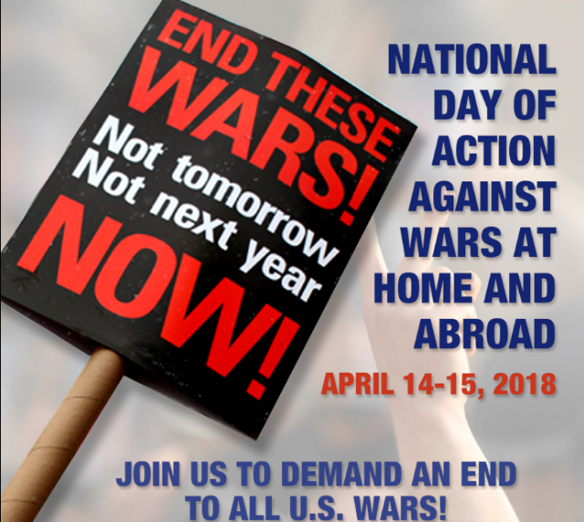 National Day of Action - End All U.S. Wars