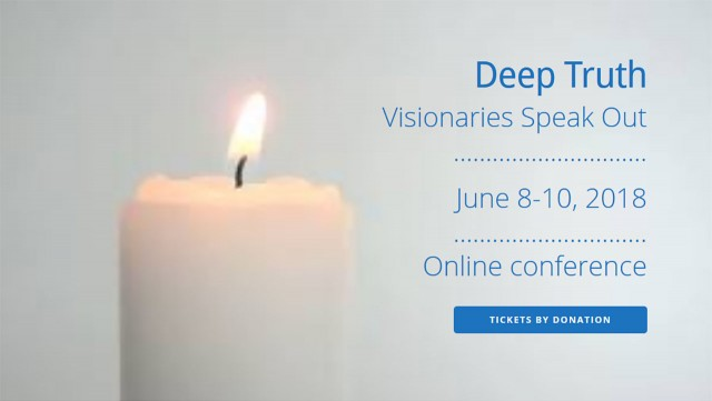 Deep Truth Visionaries Speak Out Banner
