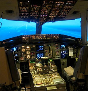 cockpit of being 757 thumb