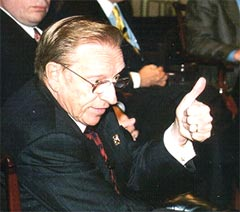 Larry Silverstein thumbs up