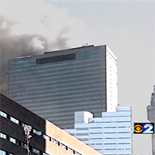 01) World Trade Center Building 7 Collapse Video Animated GIF File