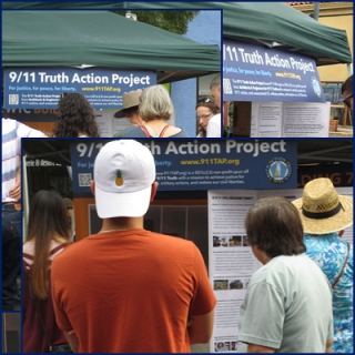911TAP Truth Booth Debuts at Portland Street Fairs