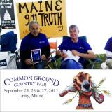 9/11 Truth Grows on Maine Fairgoers