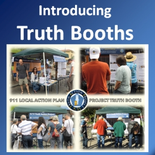 "Introducing 9/11 TAP ""Truth Booths"""