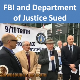 FBI and Department of Justice Sued for Failure To Perform Duties