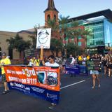 9/11 Truth in the 2014 Arizona State University Homecoming Parade