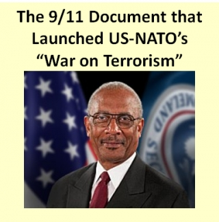 "The Mysterious Frank Taylor Report: The 9/11 Document that Launched US-NATO's ""War on Terrorism"" in the Middle East"